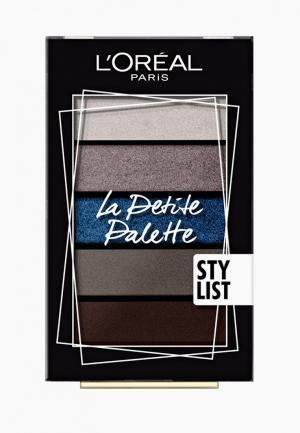 Палетка для глаз LOreal Paris L'Oreal La Petite Palette, оттенок 04, Элегантность. Цвет: разноцветный