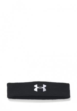 Повязка Under Armour UA Performance Headband. Цвет: черный