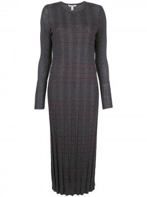 Трикотажное платье Autumn Cashmere. Цвет: серый