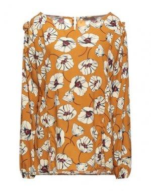 Блузка FLY GIRL. Цвет: охра