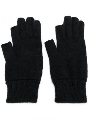 Cashmere gloves Rick Owens. Цвет: чёрный