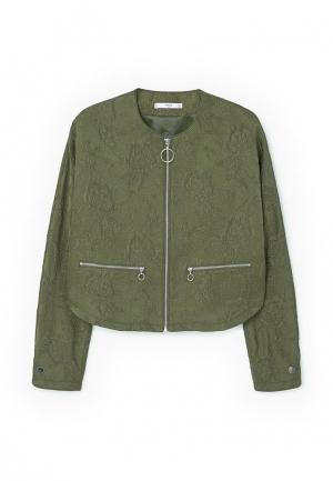 Куртка Mango - JACK. Цвет: хаки