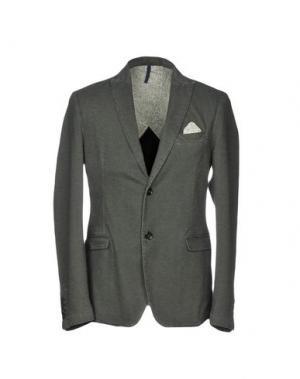 Пиджак BERNA. Цвет: свинцово-серый