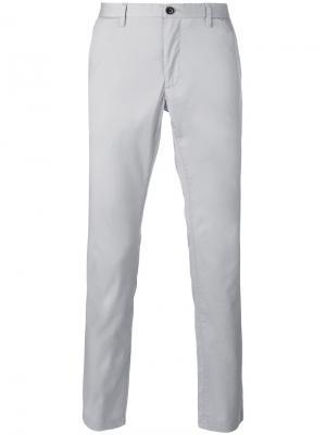 Классические брюки чинос Michael Kors. Цвет: серый