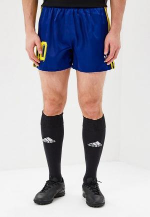 Шорты спортивные adidas Originals COLOMBIA SHORTS. Цвет: синий