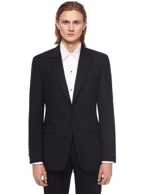 Костюмный пиджак TIGER OF SWEDEN. Цвет: черный