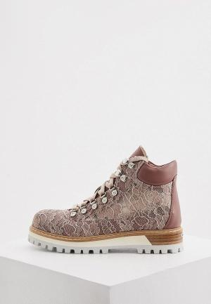 Ботинки Le Silla. Цвет: розовый