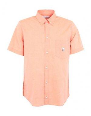 Pубашка BAND OF OUTSIDERS. Цвет: абрикосовый