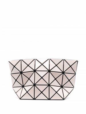 Косметичка с геометричным узором Bao Issey Miyake. Цвет: нейтральные цвета