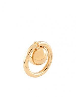 Кольцо BURBERRY. Цвет: золотистый
