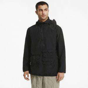 Ветровка x FIRST MILE Utility Mens Training Jacket PUMA. Цвет: черный
