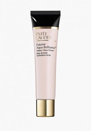 Праймер для лица Estee Lauder увлажняющий, придающий сияние Futurist Aqua Brilliance Watery Glow Primer 40 мл. Цвет: прозрачный