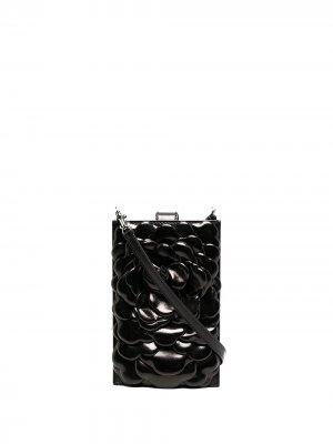 Сумка 03 Rose Edition Atelier Valentino Garavani. Цвет: черный