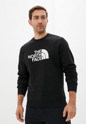 Свитшот The North Face M DREW PEAK CREW. Цвет: черный