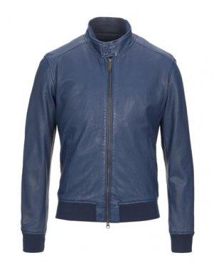 Куртка BOMBOOGIE. Цвет: синий