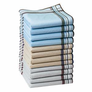 Комплект из 12 носовых платков 100% хлопка Jumel LA REDOUTE INTERIEURS. Цвет: разноцветный