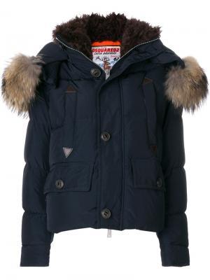 Куртка-бомбер Caten Dsquared2. Цвет: синий