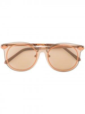 Miss Persimmon sunglasses Karen Walker. Цвет: коричневый