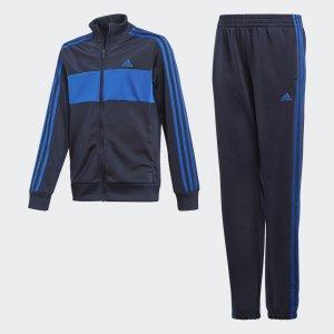 Спортивный костюм Tiberio Performance adidas. Цвет: синий