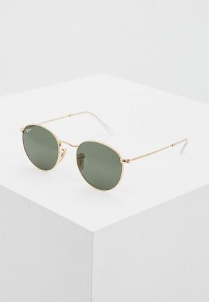 Очки солнцезащитные Ray-Ban® RB3447N 001. Цвет: золотой