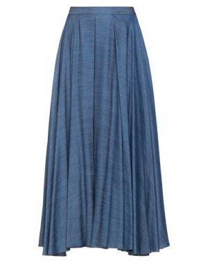 Джинсовая юбка BLACK LABEL. Цвет: синий