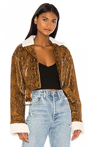 Куртка tidal h:ours. Цвет: коричневый