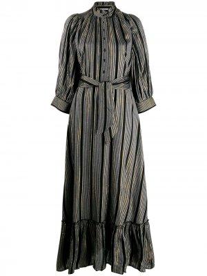 Полосатое платье-рубашка Antik Batik