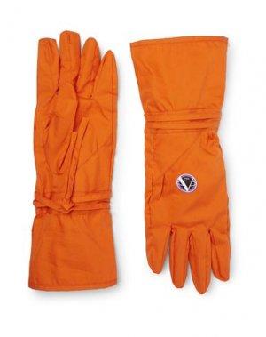 Перчатки RAF SIMONS. Цвет: оранжевый