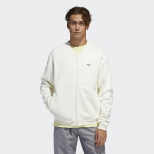 Кардиган Shmoo Originals adidas. Цвет: белый