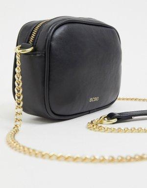Стеганая сумка через плечо -Черный BCBGeneration