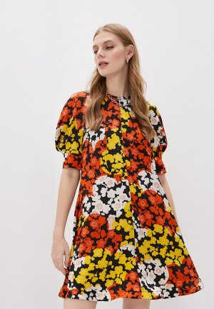Платье McQ Alexander McQueen. Цвет: разноцветный