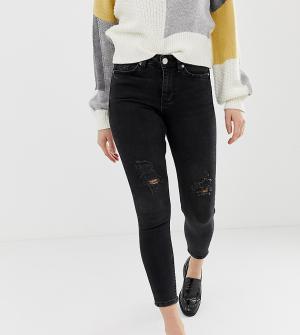 Черные зауженные джинсы Lizzie-Черный Miss Selfridge Petite
