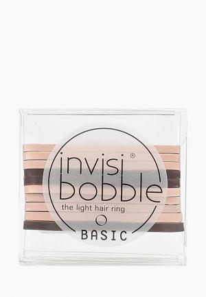 Комплект invisibobble BASIC Mocca & Cream. Цвет: разноцветный