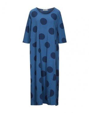 Платье длиной 3/4 MAMA B.. Цвет: грифельно-синий