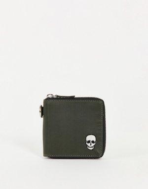 Бумажник Blakeney-Зеленый цвет Bolongaro Trevor