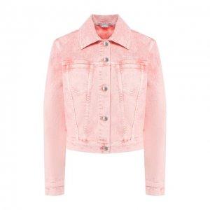 Джинсовая куртка Stella McCartney. Цвет: розовый