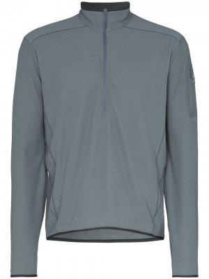 Arcteryx куртка Delta LT с воротником на молнии Arc'teryx. Цвет: серый
