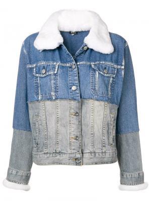 db7ad0eb264a Мужские джинсовые куртки из меха кролика купить в интернет-магазине ...