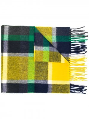 Клетчатый шарф с бахромой Begg & Co
