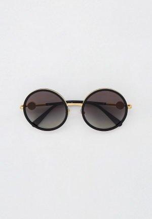 Очки солнцезащитные Versace VE2229 100211. Цвет: черный