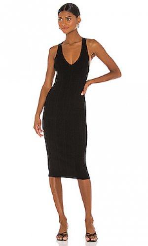 Платье josephine LAGENCE L'AGENCE. Цвет: черный
