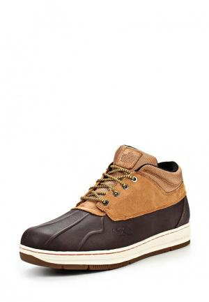 Ботинки K1X shellduck low boot le. Цвет: коричневый