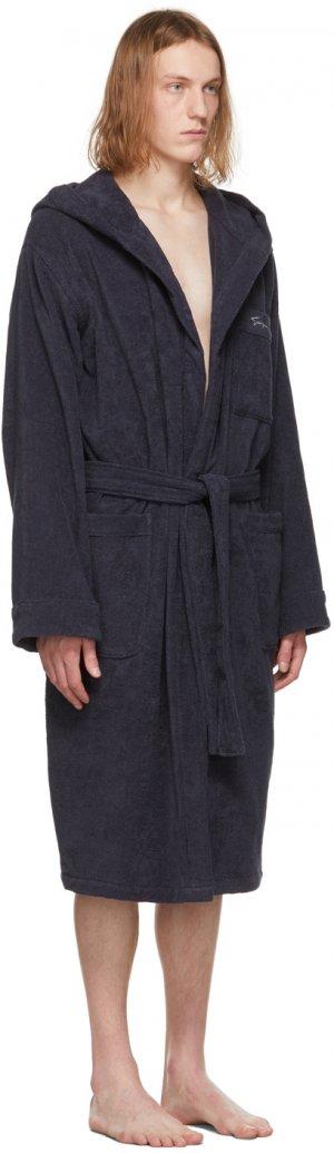 Navy Terrycloth Robe Giorgio Armani. Цвет: 136 navy
