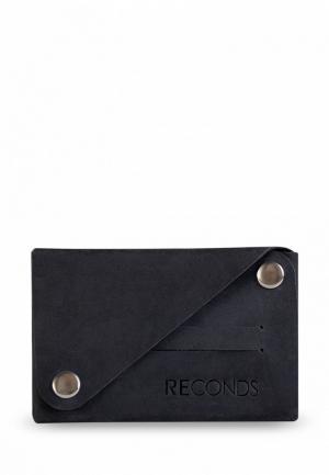 Кошелек Reconds Compact. Цвет: черный