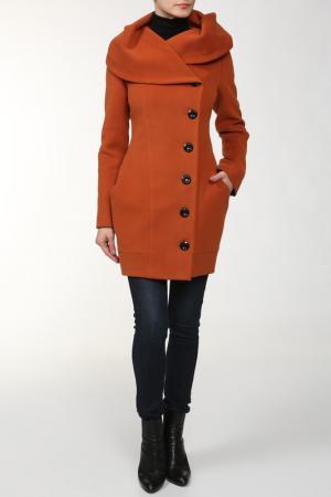 Пальто Elegant Ledy. Цвет: коричневый