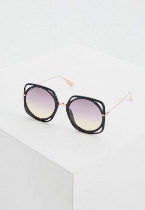 Очки солнцезащитные Christian Dior DIORDIRECTION 26S. Цвет: черный
