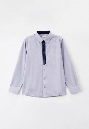 Рубашка PlayToday. Цвет: серый