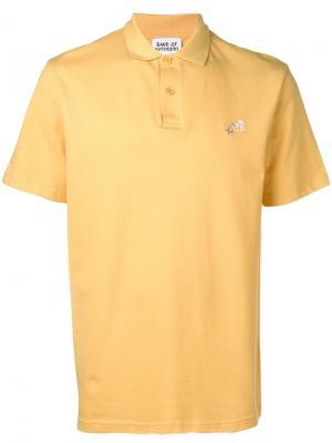 Рубашка-поло с вышитым логотипом Band of Outsiders