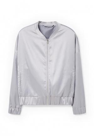 Куртка Mango - FEBRERO. Цвет: серебряный