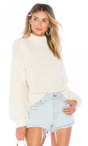 Пуловер prarie Lovers + Friends. Цвет: кремовый